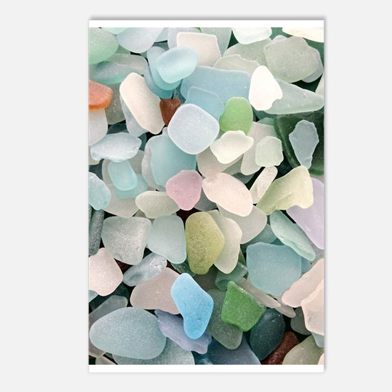 Sea glass Postcards (Package of 8)