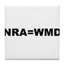 NRA = WMD Tile Coaster