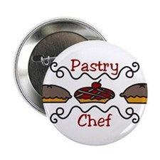 "Pastry Chef 2.25"" Button"