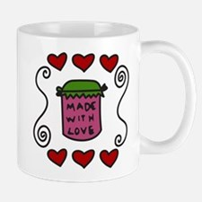 Made With Love Small Small Mug