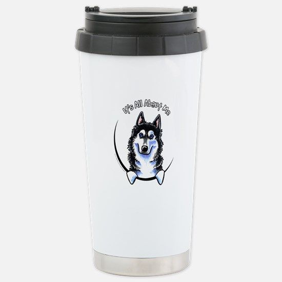 Siberian Husky IAAM Stainless Steel Travel Mug