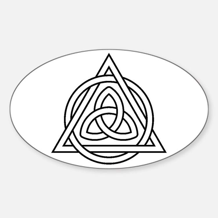 Triquetra Celtic Triangle Decal