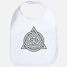 Triquetra Celtic Triangle Bib