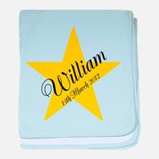 Personalized Star - Babys name and birth date baby
