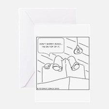 Unique Warehouse Greeting Card
