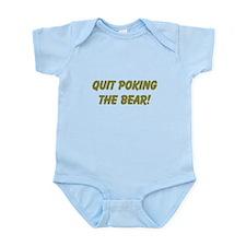 Poking the bear Infant Bodysuit