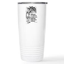 Cute Through looking glass Travel Mug