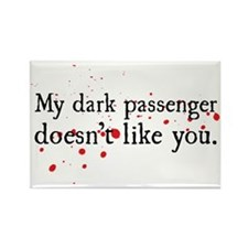 Dexter - Dark Passenger Rectangle Magnet