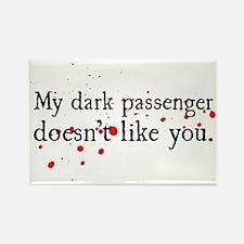 Dexter - Dark Passenger Rectangle Magnet