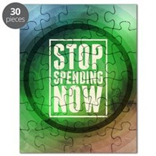 Stop Spending Now Puzzle