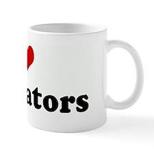 I Love Excavators Mug