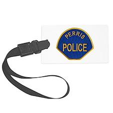 Perris Police Luggage Tag