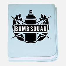 Bomb Squad baby blanket