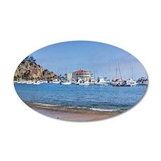 Avalon Harbor - Santa Catalina Island Wall Decal