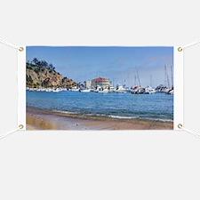 Avalon Harbor - Santa Catalina Island Banner