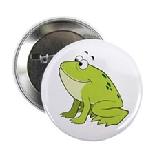 """cartoon frog.png 2.25"""" Button"""