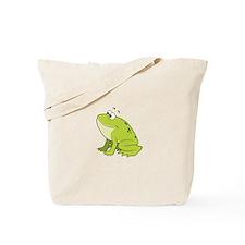 cartoon frog.png Tote Bag