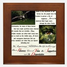 PTSD Framed Tile