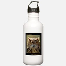 Give A Hoot ...Don't be an A**Hole Water Bottle