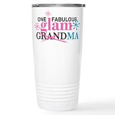 Glam Grandma Travel Coffee Mug