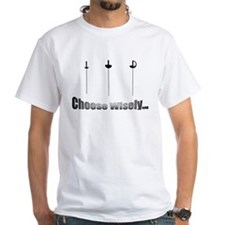 Choose Wisely Ash Grey T-Shirt T-Shirt