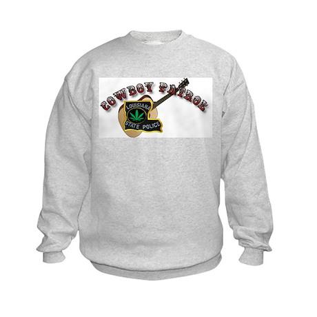 Cowboy Patrol Kids Sweatshirt