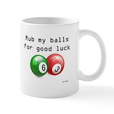 Rub My Balls for Luck Mug