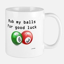 Rub My Balls for Luck Mug