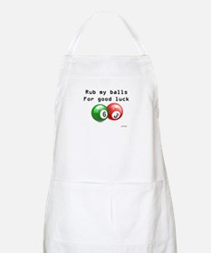 Rub My Balls for Luck Apron