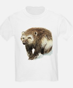 Wolverine (Front only) Kids T-Shirt