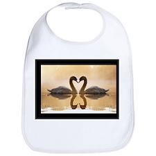 Love Swans Bib