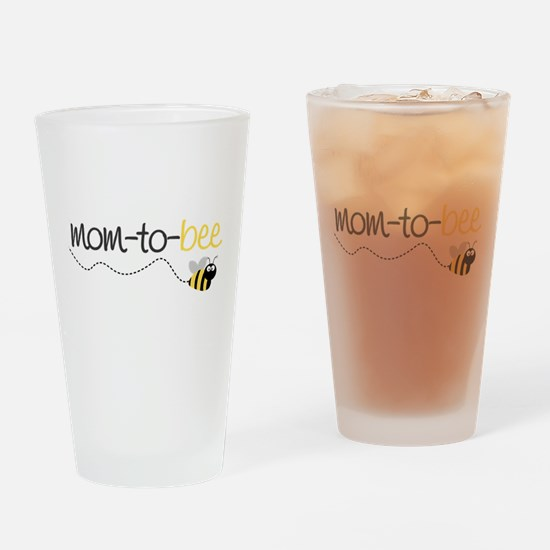 Cute Mom to be Drinking Glass