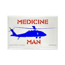 Medicine Man: HH60 Rectangle Magnet