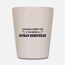 Human resources Shot Glass