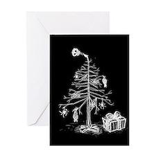 gothic-xmas-tree-c.jpg Greeting Card