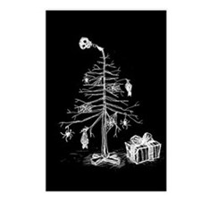 gothic-xmas-tree-p.jpg Postcards (Package of 8)