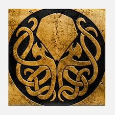 Cute Hp lovecraft Tile Coaster