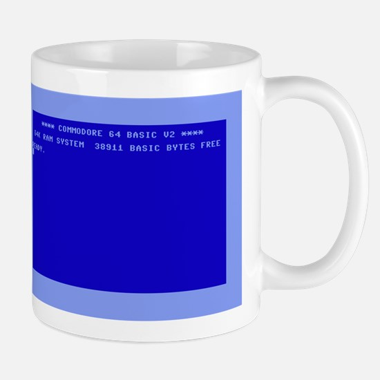 C64 Ready.png Mug