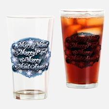 Winter Merry Meet Drinking Glass