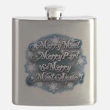 Winter Merry Meet Flask