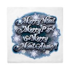Winter Merry Meet Queen Duvet