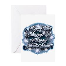 Winter Merry Meet Greeting Card