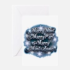 Winter Merry Meet Greeting Card