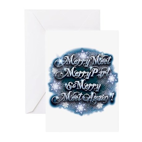 Winter Merry Meet Greeting Cards (Pk of 20)
