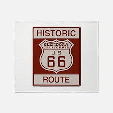 Glendora Route 66 Throw Blanket