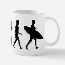 Human Surfer Evolution Mug