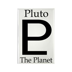 Pluto, the Planet Rectangle Magnet