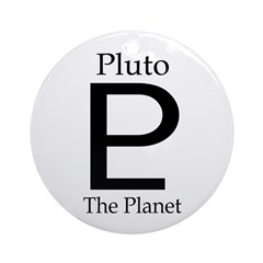 Pluto: The Planet (Christmas Ornament)
