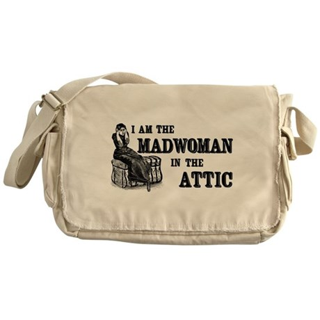 Madwoman In The Attic Messenger Bag