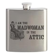 Madwoman In The Attic Flask